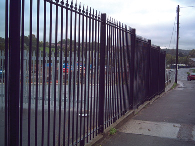 Aluminum Fence Installation Manual for Specrail fence models